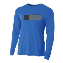 Crazyfly Long Sleeve Water Jersey - Blue