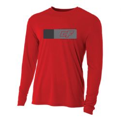 Crazyfly Long Sleeve Water Jersey - Red