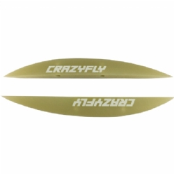 Crazyfly 1.5cm G-10 Fins (set of 4 w/ screws)
