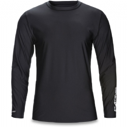 Dakine Long Sleeve Heavy Duty Rashguard - Black