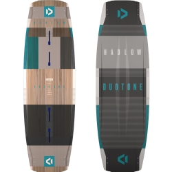 2019 Duotone Team Series Hadlow Twintip Kiteboard - Competition Freestyle/Wakestyle