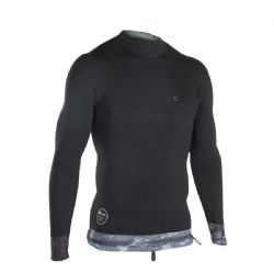 ION Neoprene Top 2/1mm Long Sleeve - Black