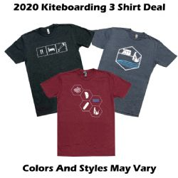 Kiteboarding.com - 3 Shirt Deal