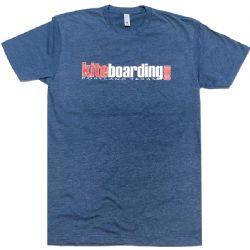 Kiteboarding.com - Kiteboarding T-Shirt -Midnight Navy