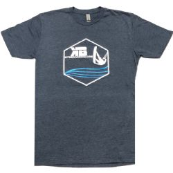 Kiter Badge - Kiteboarding T-Shirt - Midnight Navy