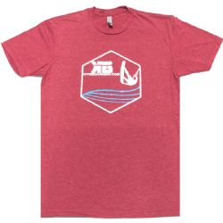 Kiter Badge - Kiteboarding T-Shirt - Red