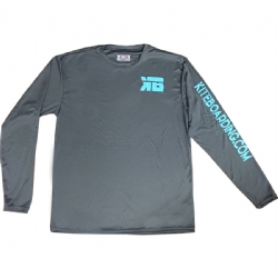 Kiteboarding.com Long Sleeve Water Jersey - Grey