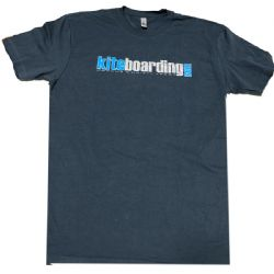 Kiteboarding.com T-Shirt Blue
