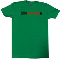 Kiteboarding.com T-Shirt Green