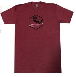 Kiteboarding.com Kiter Badge T-Shirt Red