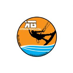 Kiteboarding.com 2019 Kiter Dude Sticker