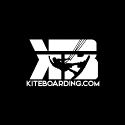 White Kiteboarding.com Transfer Decal