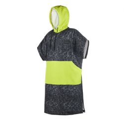 Mystic Poncho Allover - Black / Lime
