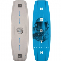 2018 North Gambler Twintip Kiteboard - Wakestyle / Park Riding