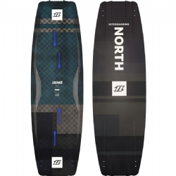 2018 North Jaime Textreme Twintip Kiteboard - Performance Freestyle