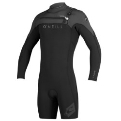 O'Neill Hyperfreak Front Zip 2mm Long Sleeve Spring Wetsuit