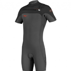 O'Neill Hyperfreak Front Zip 2mm Short Sleeve Spring Wetsuit - 20% Off