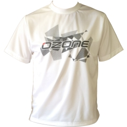 Ozone Wet Tech T-Shirt Short Sleeve - White