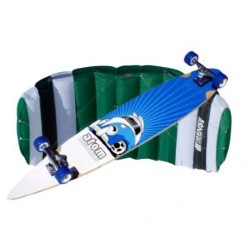 Lightwind Fun Package: Sensei Trainer and MBS Atom Pintail Longboard Skateboard