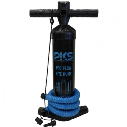 "PKS Pro Flow 20"" Kite Pump with PSI meter"