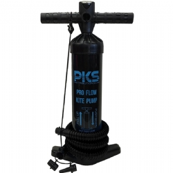 "PKS Pro Flow V2 20"" Kite Pump with PSI meter"