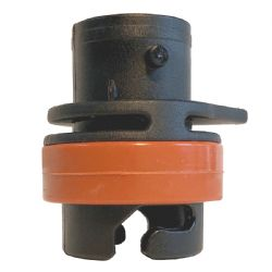 PKS Pump Adapter for Duotone and North Airport Valves with Double Silicone Ring