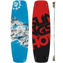 2015 Slingshot Crisis Twintip & Bindings - 60% off