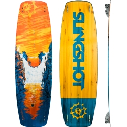2016 Slingshot Crisis Twintip & Bindings - 40% off