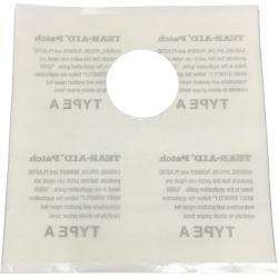 "Tear Aid Screw Valve Bladder Patch Install Kit  (6"" x 6"")"